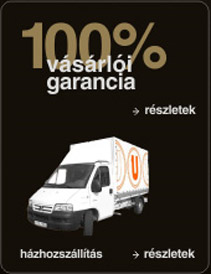 100% Vásárlói garancia